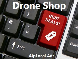 AlpLocal Drone Shop Mobile Ads