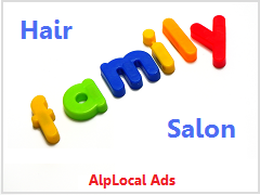 AlpLocal Hair Salon Mobile Ads