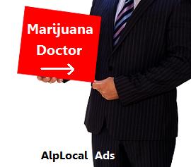 AlpLocal Marijuana Doctor Mobile Ads