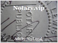 AlpLocal Notary VIP Mobile Ads