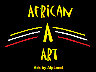 AlpLocal African Art Mobile Ads