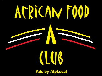 AlpLocal African Food Club Mobile Ads