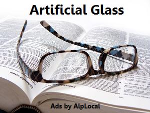 AlpLocal Artificial Glass Mobile Ads