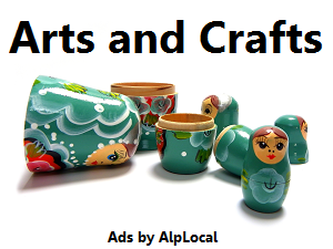 AlpLocal Arts and Crafts Mobile Ads