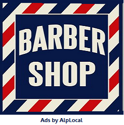 AlpLocal Barbers Mobile Ads