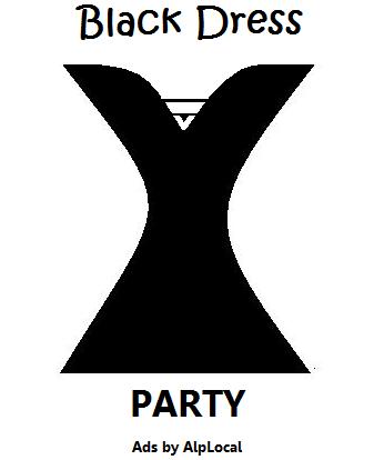 AlpLocal Black Dress Party Mobile Ads