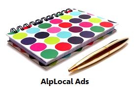 AlpLocal Book Store Mobile Ads