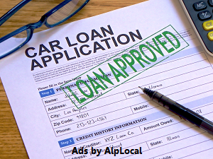 AlpLocal Car Loan VIP Mobile Ads