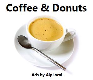 AlpLocal Donuts Pro Mobile Ads