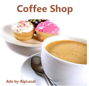 AlpLocal Coffee Shop Mobile Ads