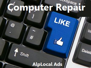 AlpLocal Computer Repair Mobile Ads