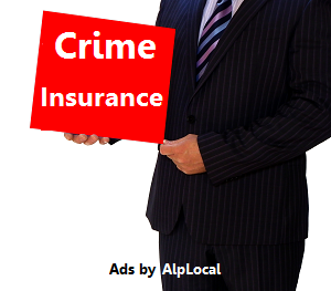 AlpLocal Crime Insurance Mobile Ads