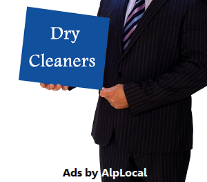AlpLocal Dry Cleaners Mobile Ads