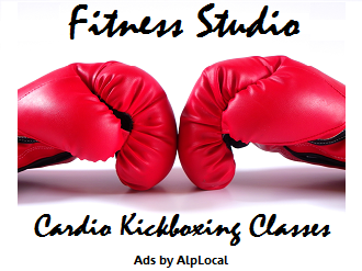 AlpLocal Fitness Studio Mobile Ads