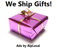 AlpLocal Shipping Store Mobile Ads