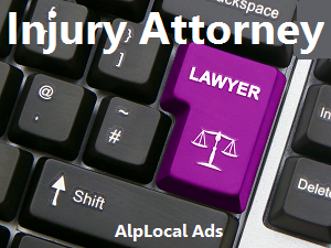 AlpLocal Injury Attorneys Mobile Ads
