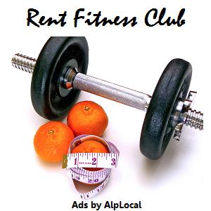 AlpLocal Rent Fitness Club Mobile Ads