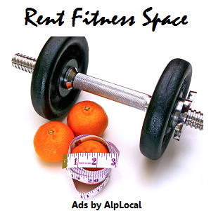 AlpLocal Rent Fitness Space Mobile Ads
