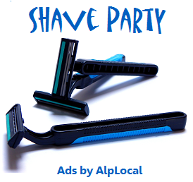 AlpLocal Shave Party Mobile Ads