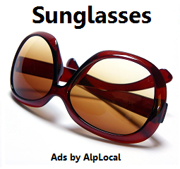 AlpLocal Sunglasses Mobile Ads