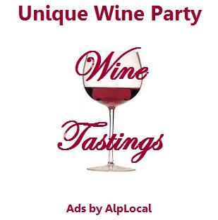AlpLocal Wine Tastings Mobile Ads