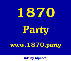 AlpLocal 1870 Party Mobile Ads