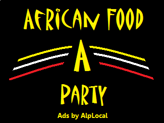AlpLocal African Food Party Mobile Ads
