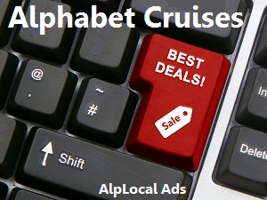AlpLocal Alphabet Cruises Mobile Ads