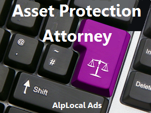 AlpLocal Asset Protection Attorney Mobile Ads