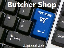 AlpLocal Butcher Shop Mobile Ads