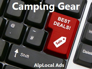 AlpLocal Camping Gear Mobile Ads