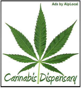 AlpLocal Cannabis Dispensary Mobile Ads
