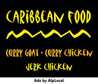 AlpLocal Caribbean Food Mobile Ads