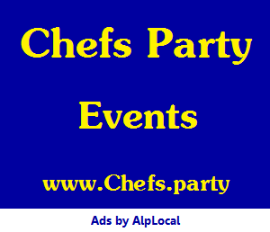 AlpLocal Chefs Party Mobile Ads