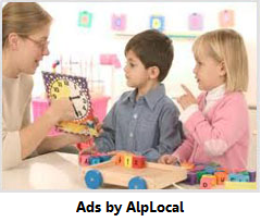 AlpLocal Child Care Party Mobile Ads