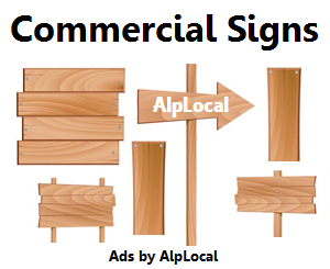 AlpLocal Commercial Signs Mobile Ads