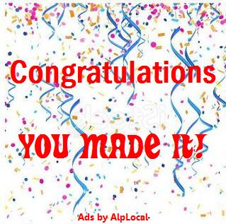 AlpLocal Congratulations Mobile Ads
