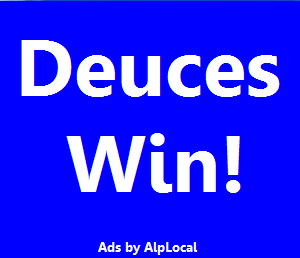 AlpLocal Deuces Win Mobile Ads