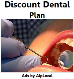 AlpLocal Discount Dental Plan Mobile Ads