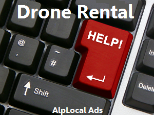 AlpLocal Drone Rental Mobile Ads
