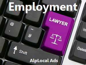 AlpLocal Employment Lawyer Mobile Ads