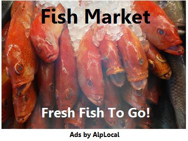 AlpLocal Fish Market Mobile Ads
