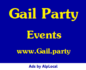 AlpLocal Gail Party Mobile Ads