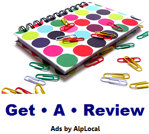 AlpLocal Get A Review Mobile Ads