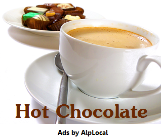 AlpLocal Hot Chocolate Mobile Ads