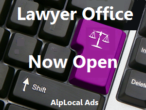 AlpLocal Lawyer Office Mobile Ads