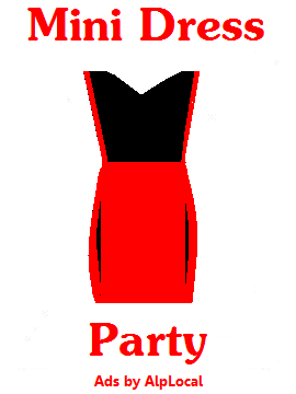AlpLocal Mini Dress Party Mobile Ads