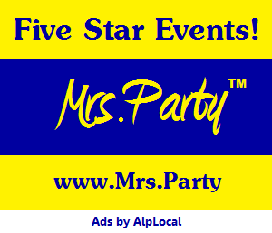 AlpLocal Mrs Party Mobile Ads