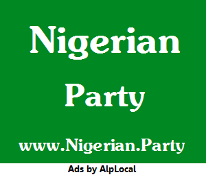 AlpLocal Nigerian Party Mobile Ads