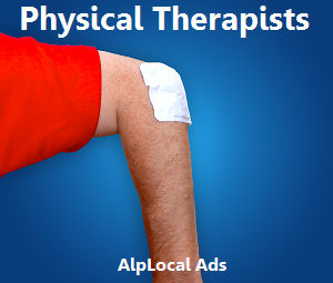 AlpLocal Physical Therapists Mobile Ads